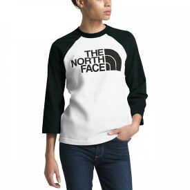 ザ ノースフェイス The North Face レディース トップス Tシャツ【Half Dome Baseball T - Shirt】Tnf White/Tnf Black
