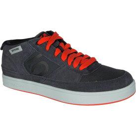 ファイブテン Five Ten メンズ 自転車 シューズ・靴【Spitfire Cycling Shoes】Dark Grey/Black/Bold Orange