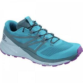 サロモン Salomon レディース ランニング・ウォーキング シューズ・靴【Sense Ride 2 Trail Running Shoe】Cyan Blue/Mallard Blue/Cashmere Blue