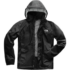 ザ ノースフェイス The North Face メンズ アウター レインコート【Resolve 2 Hooded Jackets】Tnf Black/High Rise Grey Campfire Print