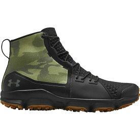アンダーアーマー Under Armour メンズ ハイキング・登山 シューズ・靴【Speedfit 2.0 Hiking Boots】Black/Black/Guardian Green