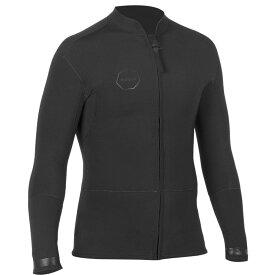 ヴィスラ Vissla メンズ アウター ジャケット【Front Zip 2mm Jackets】Black