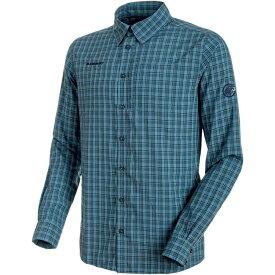 マムート Mammut メンズ トップス シャツ【Lenni Long - Sleeve Shirts】Jay/Marine