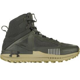 アンダーアーマー Under Armour メンズ ハイキング・登山 シューズ・靴【Verge 2.0 Mid GTX Hiking Boots】Baroque Green/Outpost Green/Black