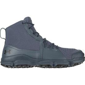 アンダーアーマー Under Armour メンズ ハイキング・登山 シューズ・靴【Speedfit 2.0 Hiking Boots】Wire/Black/Black