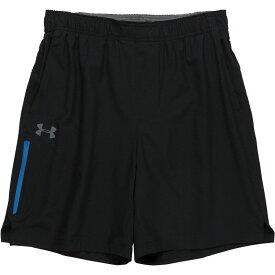 アンダーアーマー Under Armour メンズ ハイキング・登山 ボトムス・パンツ【Ramble Shorts】Black/Cruise Blue/Graphite