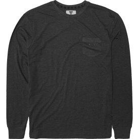 ヴィスラ Vissla メンズ トップス 長袖Tシャツ【Vintage Heather Long - Sleeve Shirts】Black Heather