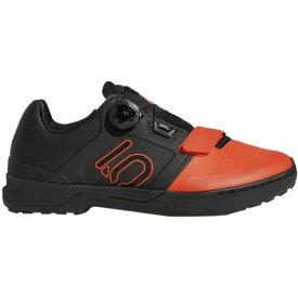 ファイブテン Five Ten メンズ 自転車 シューズ・靴【Kestrel Pro Boa Shoes】Active Orange/Black/Black