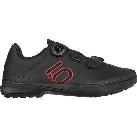 ファイブテン Five Ten メンズ 自転車 シューズ・靴【Kestrel Pro Boa Shoes】Black/Red/Grey Six