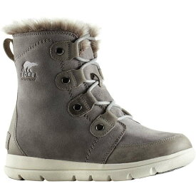 ソレル Sorel レディース シューズ・靴 ブーツ【Explorer Joan Boot】Quarry/Black