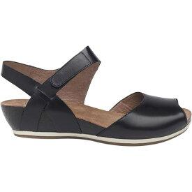ダンスコ Dansko レディース サンダル・ミュール シューズ・靴【vera sandal】Black Burnished