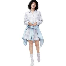 アグ UGG レディース パジャマ・トップのみ インナー・下着【gabri pj and sock set】Lavender Aura Plaid
