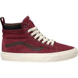 ヴァンズ Vans レディース ブーツ シューズ・靴【sk8 - hi mte boot】 Biking Red/Chocolate Torte [llt]