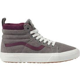 ヴァンズ Vans レディース ブーツ シューズ・靴【sk8 - hi mte boot】 Frost Gray/Prune [llt]