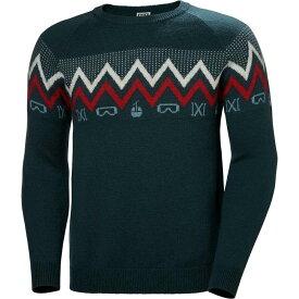 ヘリーハンセン Helly Hansen メンズ ニット・セーター トップス【wool knit sweaters】Navy
