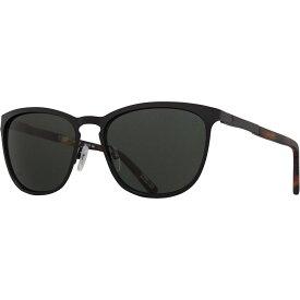 スパイ Spy レディース メガネ・サングラス 【cliffside polarized sunglasses】Matte Black/Matte Honey Tort - Happy Gray Green Polar