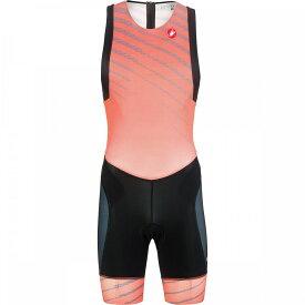 カステリ Castelli メンズ トライアスロン トライスーツ トップス【Free Tri ITU Suit】Orange