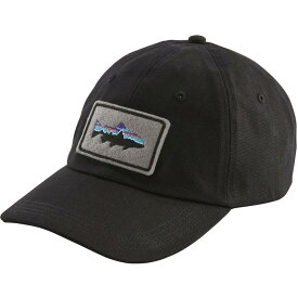 パタゴニア Patagonia メンズ キャップ 帽子【Fitz Roy Trout Patch Trad Cap】Black