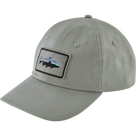 パタゴニア Patagonia メンズ キャップ 帽子【Fitz Roy Trout Patch Trad Cap】Drifter Grey