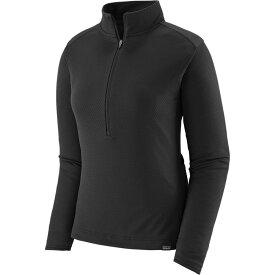 パタゴニア Patagonia レディース 自転車 トップス【Capilene Midweight Bike Jersey】Black