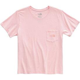 ザ ノースフェイス The North Face レディース Tシャツ トップス【Shine On Pocket T - Shirt】Pink Salt