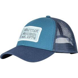 マーモット Marmot メンズ キャップ トラッカーハット 帽子【Retro Trucker Hat】Moroccan Blue/Arctic Navy