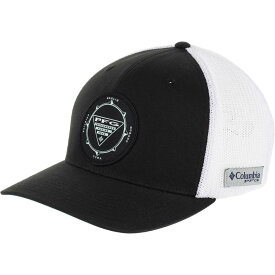 コロンビア Columbia レディース キャップ 帽子【PFG Mesh Seasonal Ball Cap】Black/Gulf Stream