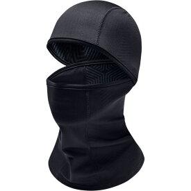 アンダーアーマー Under Armour レディース 帽子 フェイスマスク【ColdGear Infrared Hood Balaclava】Black/Black