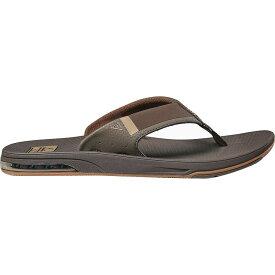 リーフ Reef メンズ ビーチサンダル シューズ・靴【Fanning Low Flip Flop】Brown