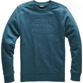 ザ ノースフェイス The North Face メンズ スウェット・トレーナー トップス【Sobranta Crew Sweatshirt】Blue Wing Teal