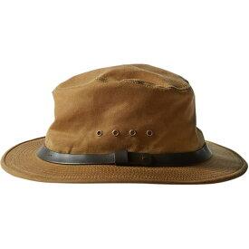 フィルソン Filson メンズ 帽子 【Tin Cloth Packer Hat】Dark Tan