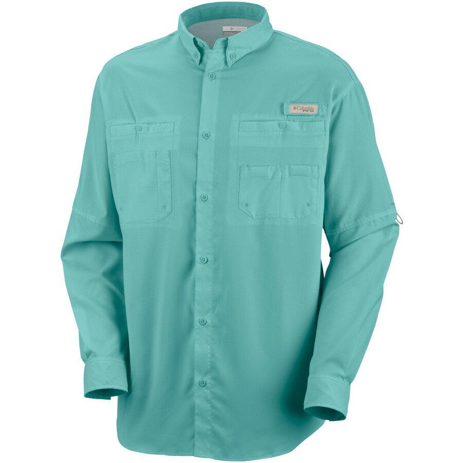 コロンビア Columbia メンズ トップス カジュアルシャツ【Tamiami II Button-Down Shirt】Gulf Stream