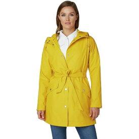 ヘリーハンセン Helly Hansen レディース レインコート アウター【Kirkwall II Rain Coat】Essential Yellow