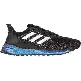 アディダス Adidas レディース ランニング・ウォーキング シューズ・靴【Solar Boost Running Shoe】Core Black/Purple Tint/Solar Red