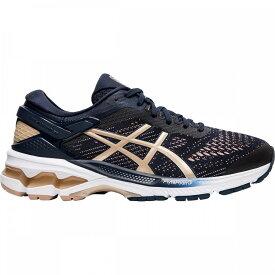 アシックス Asics レディース ランニング・ウォーキング シューズ・靴【Gel - Kayano 26 Running Shoe】Midnight/Almond