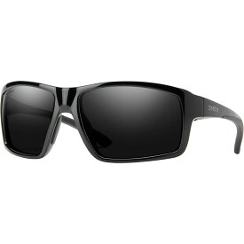 スミス Smith レディース スポーツサングラス 【Hookshot Chromapop Polarized Sunglasses】Black-Chromapop Polarized Black