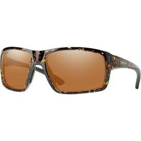 スミス Smith レディース スポーツサングラス 【Hookshot Chromapop Polarized Sunglasses】Dark Amber Tort-Chromapop Polarized Copper