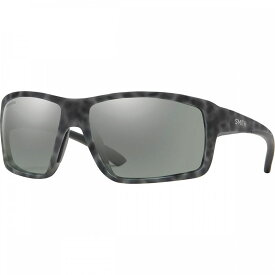 スミス Smith レディース スポーツサングラス 【Hookshot Chromapop Polarized Sunglasses】Matte Ash Tort-Chromapop Polarized Platinum Mirror