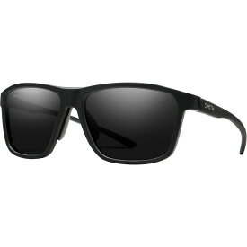 スミス Smith レディース スポーツサングラス 【Pinpoint ChromaPop Polarized Sunglasses】Matte Black/Chromapop Polarized Black