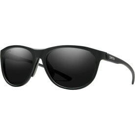 スミス Smith レディース スポーツサングラス 【Uproar ChromaPop Polarized Sunglasses】Matte Black/Chormapop Polarized Black