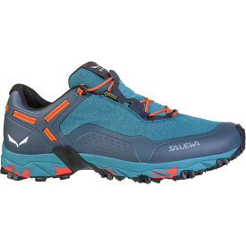 サレワ Salewa メンズ ハイキング・登山 シューズ・靴【Speed Beat GTX Trail Running Shoe】Premium Navy/Spicy Orange