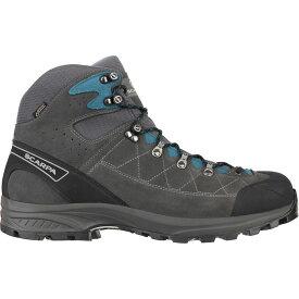 スカルパ Scarpa メンズ ハイキング・登山 ブーツ シューズ・靴【Kailash Trek GTX Hiking Boot】Shark Grey/Lake Blue