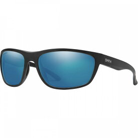 スミス Smith レディース スポーツサングラス 【Redding Glass Chromapop Polarized Sunglasses】Matte Black-Chromapop Polarized Blue Mirror
