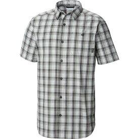 コロンビア Columbia メンズ 半袖シャツ トップス【Boulder Ridge Short - Sleeve Shirt】Shark Multi Plaid