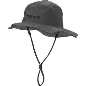 マーモット Marmot メンズ ハット サファリハット 帽子【PreCip Safari Hat】Slate Grey