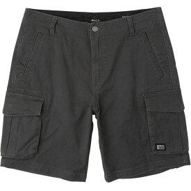 ルーカ RVCA メンズ ショートパンツ カーゴ ボトムス・パンツ【Wannabe Cargo Short】Pirate Black