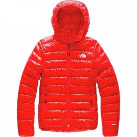 ザ ノースフェイス The North Face レディース ダウン・中綿ジャケット フード アウター【Sierra Peak Down Hooded Jacket】Fiery Red