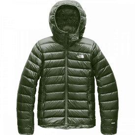 ザ ノースフェイス The North Face レディース ダウン・中綿ジャケット フード アウター【Sierra Peak Down Hooded Jacket】New Taupe Green