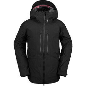 ボルコム Volcom メンズ スキー・スノーボード フード ジャケット アウター【Guide Gore - Tex Hooded Jacket】Black