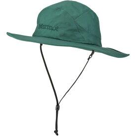 マーモット Marmot メンズ ハット サファリハット 帽子【PreCip Safari Hat】Mallard Green